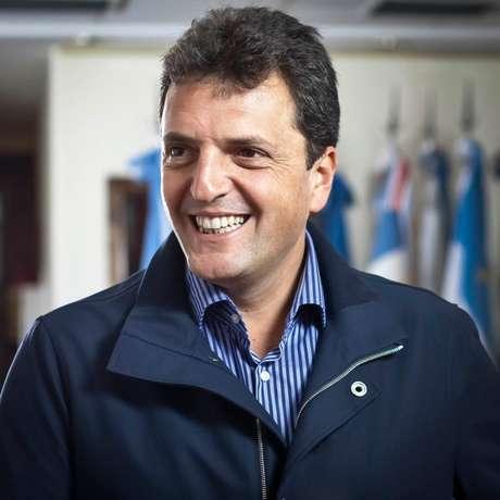 <p>Entre 2008 e 2009, Massa foi chefe de gabinete de Cristina Kirchner</p>