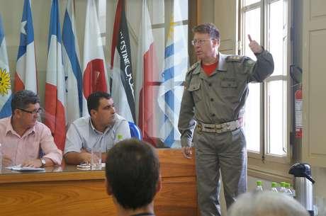 O ex-comandante dos bombeiros de Santa Maria Moisés da Silva Fuchs foi um dos apontados na conclusão do inquérito