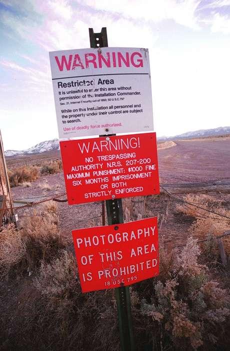 """Local já era conhecido, mas governo nunca tinha divulgado um documento oficial com o nome """"Área 51"""""""