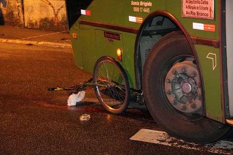 Estado de saúde do ciclista não foi informado