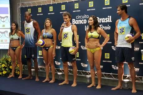 <p>Uniformes dos atletas foram redesenhados para o Circuito Brasileiro</p>