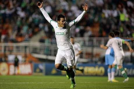 <p>Mendieta já havia marcado contra o Paysandu no sábado</p>