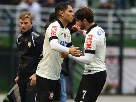 <p>Pato fez pouco e viu Guerrero fazer o que era preciso</p>