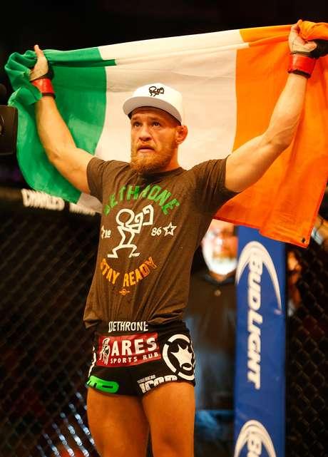 <p>Único irlandês do UFC contou com torcida em Boston</p>