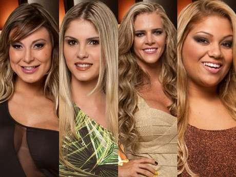 Andressa Urach, Bárbara Evans, Denise Rocha e Yani de Simone foram as indicadas