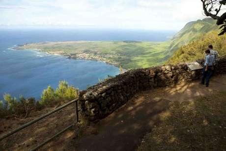 <p>A Costa de Na Pali, no Havaí tem uma das vistas para o oceano mais incríveis</p>