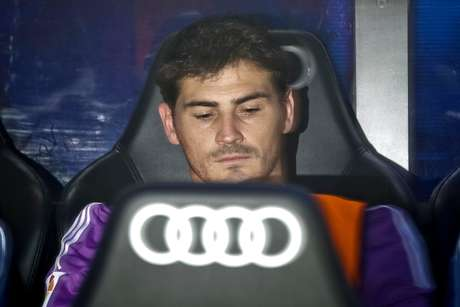 Casillas ficou no banco de reservas do Real no último domingo
