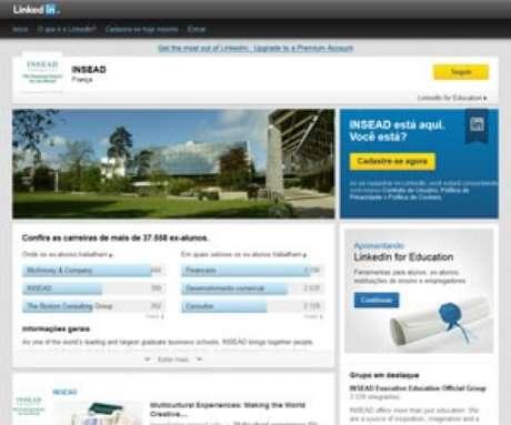 <p>As páginas de universidades irão permitir que escolas, alunos e ex-alunos se conectem ao site</p>