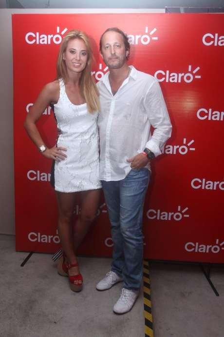 La única foto de Jésica Cirio y Martín Insaurralde que aparece en la Web