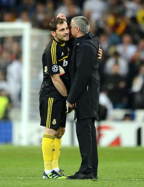 """<p>Segundo Mourinho, Casillas exercia uma """"influência negativa"""" sobre o elenco do Real</p>"""