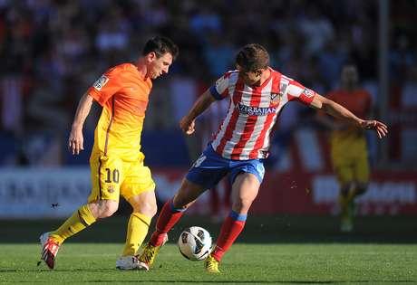 <p>Atlético y Barcelona disputan el primer capítulo de la Supercopa de España</p>
