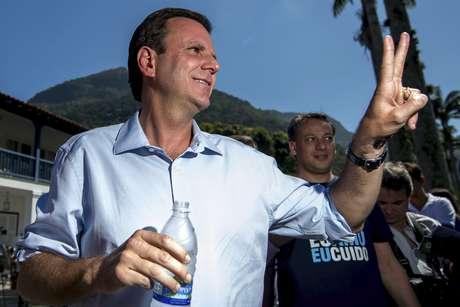 <p>Eduardo Paes, prefeito do Rio de Janeiro, é principal alvo de cobranças por problemas de infraestrutura na capital carioca</p>