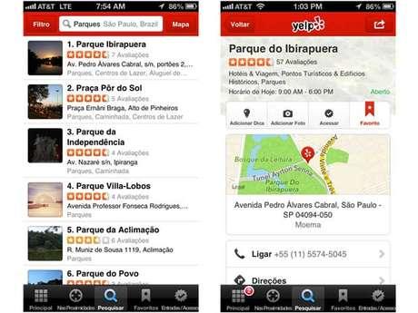 Site de recomendação Yelp estreia no Brasil já com conteúdo local
