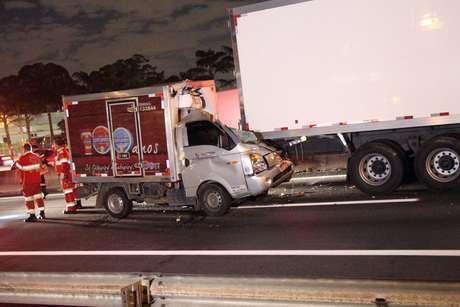 Motorista morreu na colisão