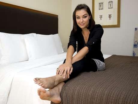 Uma das atrizes mais audaciosas da indústria pornô, de 2006 a 2011, Sasha Grey veio ao Brasil para lançar seu primeiro romance erótico, 'Juliette Society', que conta a história de uma universitária que se envolve com uma fraternidade sexual