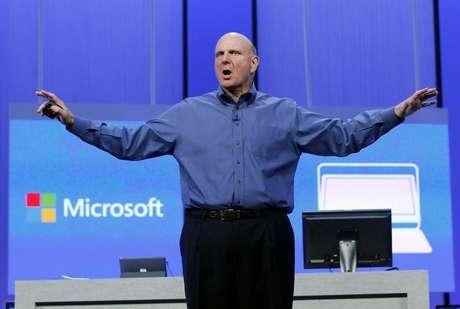 <p>CEO da Microsoft, Steve Ballmer</p>