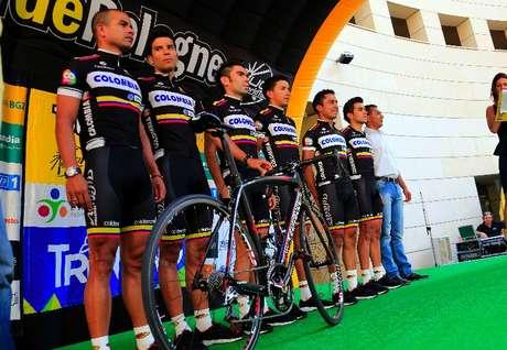 El Team Colombia preparado para afrontar el Tour de Polonia