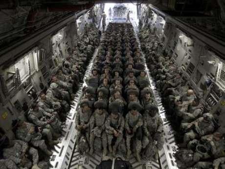 Las tropas de EE.UU.