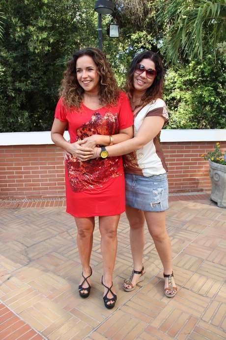 <p>Daniela Mercury e Malu Verçosa</p>