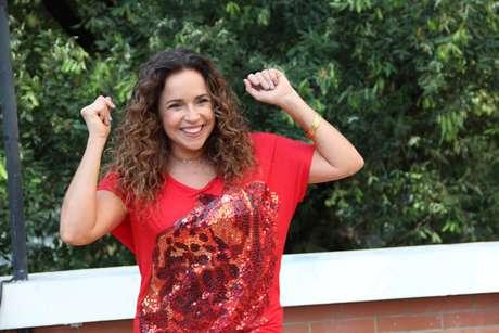 <p>Daniela Mercury posou para fotos em Teresina, no Piauí</p>