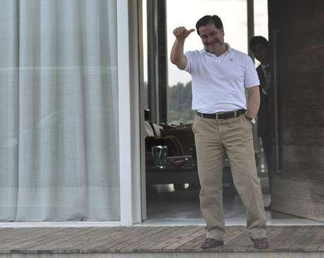 O senador boliviano de oposição Roger Pinto Molina, 53 anos, está temporariamente em Brasília, na casa do advogado, no Lago Norte, bairro nobre da cidade