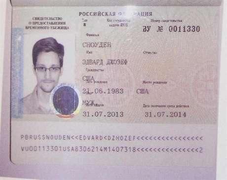 <p>Edward Snowden: o companheiro do jornalista britânico o considera um herói da liberdade e privacidade</p>
