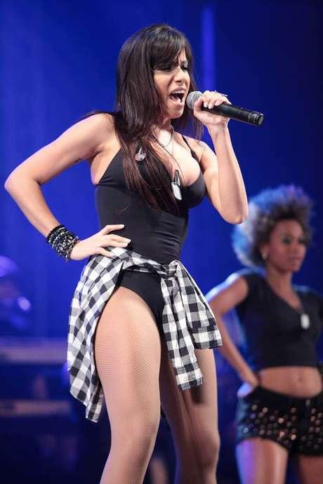 <p>Anitta tem estilo musical comparado aRihanna e Kei$ha</p>