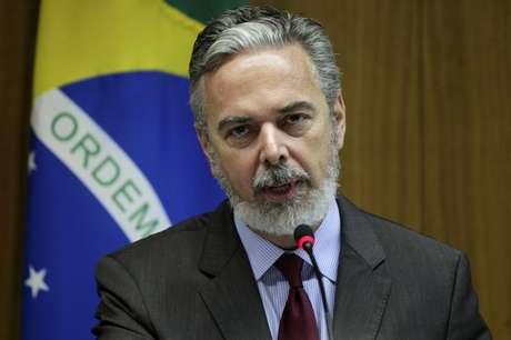 O ex-ministro das Relações Exteriores Antonio Patriota