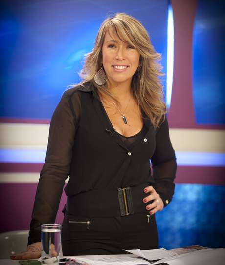 "Jennifer Warner, conductora de ""Intrusos"" de La Red."