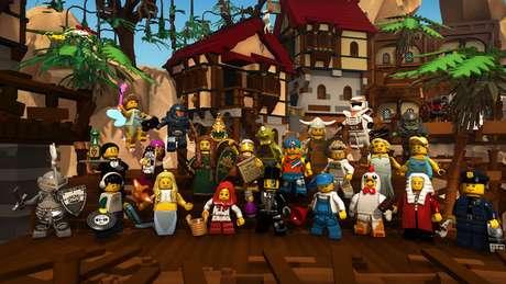 'Lego Minifigures Online' é baseado nos bonecos reais, que ao comprá-los vêm com código de download para obtê-los no jogo