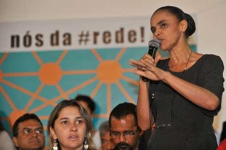 <p>A ex-senadora Marina Silva tenta registrar o novo partido na Justiça Eleitoral</p>