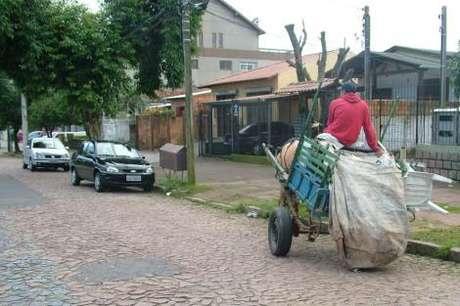 <p>Carroceiros e caminheiros poderão participar de programas de inserção profissional em reciclagem ou outras áreas</p>