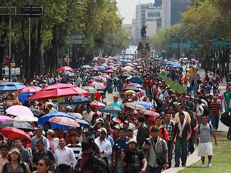 Francisco Bravo, líder de la Sección 9 de la CNTE, dijo que las manifestaciones convergerán en todo el País el próximo 4 de septiembre.
