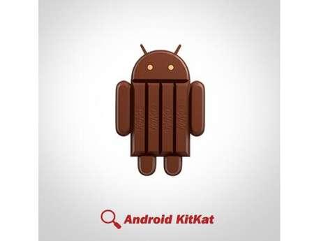 No Twitter, perfil @KitKat também anunciou a parceria com o sistema operacional mobile do Google