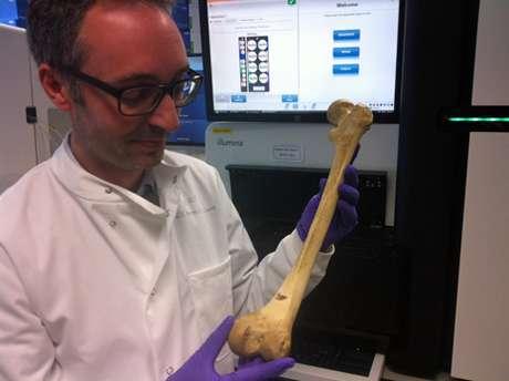 """<p>Michael Simpson, médico: """"temos grande chance de obter um bom sequenciamento genético""""</p>"""