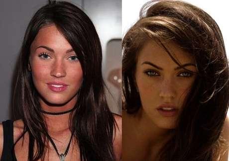 <p>La actriz y modelo Megan Fox es una mujer que transmite sensualidad y belleza. La actriz se arreglóla nariz hace algunos años.</p>