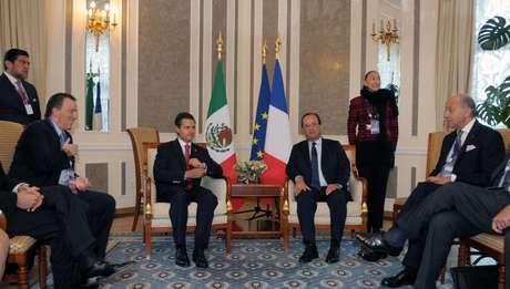 El presidente Enrique Peña Nieto, participó en la cumbre del G20 en San Petersburgo, Rusia.