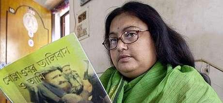 La autora asesinada por los talibanes Sushmita Banerjee
