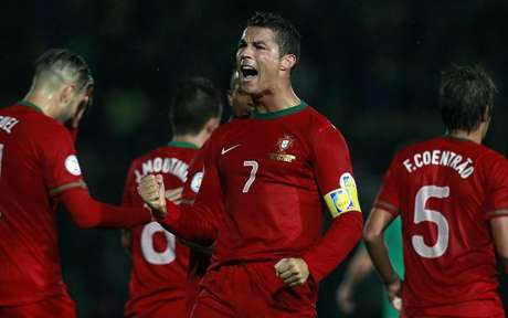 <p>Cristiano Ronaldo had a great game for Portugal.</p>