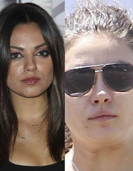 <p>La novia de Aston Kutcher posee uno de los rostros más bellos de Hollywood pero, ¿qué pasa cuando Mila se desmaquilla?</p>