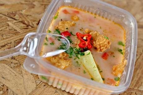 <p>Chupe de pescado, plato que te hará entrar en calor.</p>