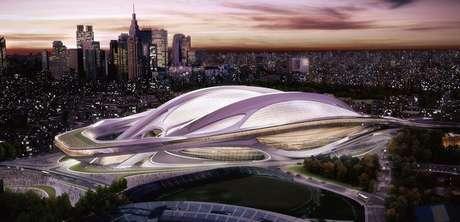 <p>Eleita neste sábado sede dos Jogos Olímpicos de 2020, Tóquio incluiu em seu portfólio uma reforma futurista para o Estádio Olímpico Nacional,palco que recebeu a Olimpíada em 1964; confira</p>