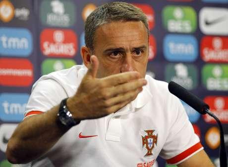 <p>Paulo Bento chamou revelação do Sporting de Lisboa</p>