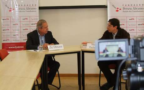 José Dirceu, ex-ministro da Casa Civil, defendeu a reforma política no País, em entrevista à FPA