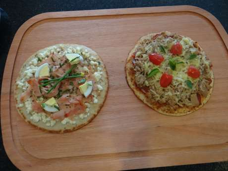 <p>Pizza Dukan</p>