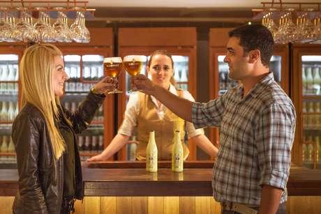 Chopps exclusivos são servidos somente no bar do local