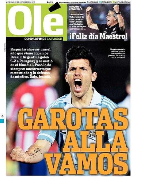 na copa argentinos mandam recado ao brasil quot garotas