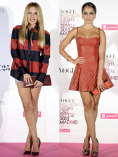 Fotos: Celebrities en la Vogue Fashion's Night Out Madrid