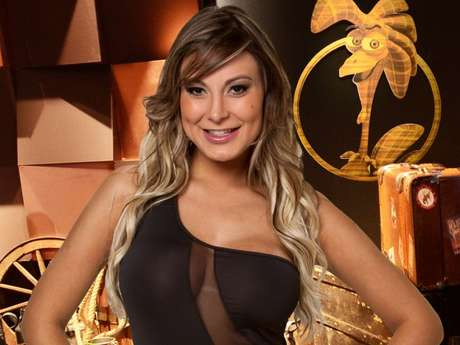 <p>Andressa Urach foi eliminada do reality show</p>