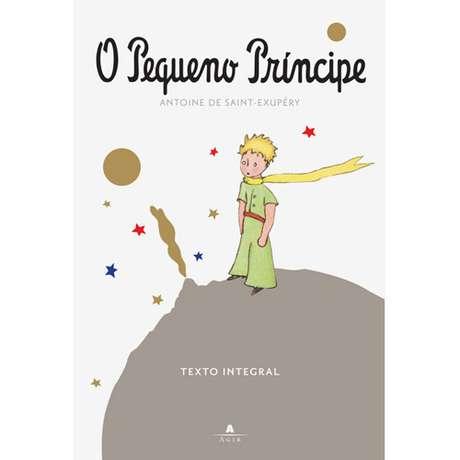 <p>Capa do livro O Pequeno Príncipe, do francês Antoine de Saint-Exupéry</p>